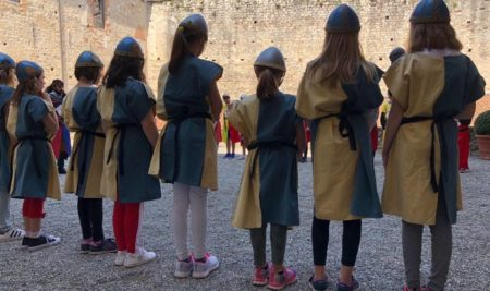 5 grade Primary and 1st Middle: Assalto al castello alla Rocca di Angera